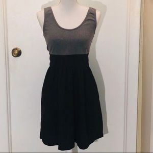 Express Gray and Black Dress Size 12